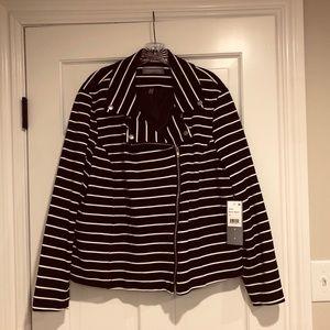 Bagatelle Blue and white striped Blazer jacket